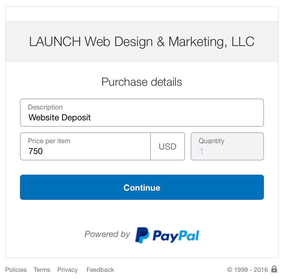 pay invoice website design and online marketing after entering invoice amount you will be rerouted to paypal our secure payment gateway here you will enter the description or invoice number and the